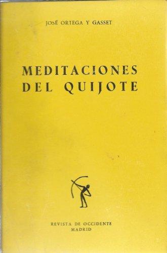 9788429210286: Meditaciones del Quijote; e Ideas sobre la novela