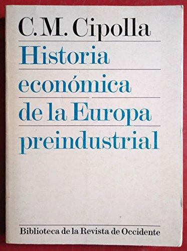 9788429287240: Historia económica de la Europa preindustrial