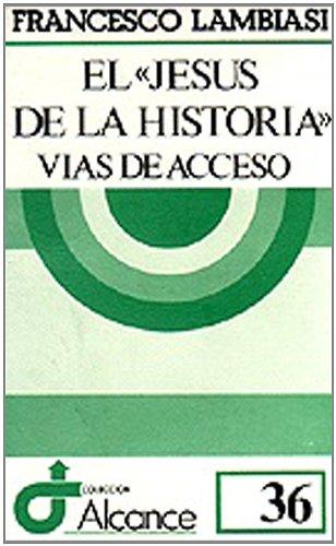 """El """"Jesús de la historia"""": FRANCESCO LAMBIASI"""