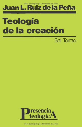 9788429307368: Teología de la creación: 24 (Presencia Teológica)