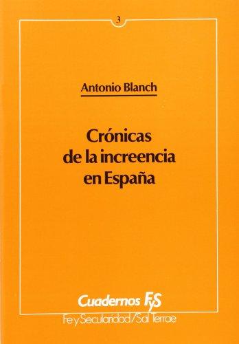 9788429308150: Crónicas de la increencia en España