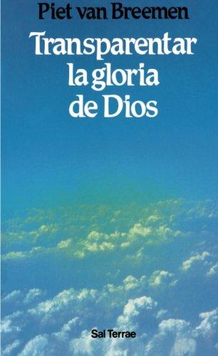 9788429311624: Transparentar la gloria de Dios (Spanish Edition)
