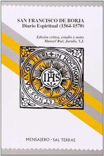 9788429312362: San Francisco de Borja: Diario Espiritual (1564-1570) (Manresa)
