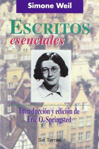 9788429313383: Escritos esenciales de Simone Weil: Introducción y edición de Eric O. Springsted (Pozo de Siquem)