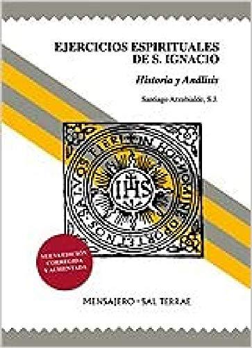 9788429317930: EJERCICIOS ESPIRITUALES SAN IGNACIO HISTORIA