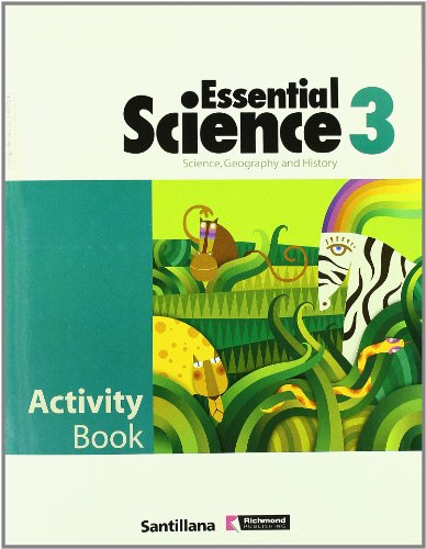 9788429406795: Essential science, geography and history, 3 Educación PriMaría. Activity book