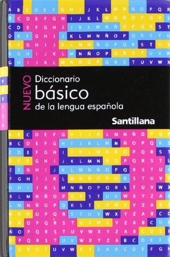 Nuevo Diccionario Básico De La Lengua Española: Santillana