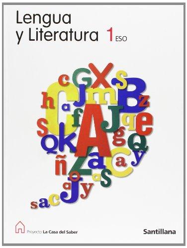 9788429407624: Proyecto La Casa del Saber, lengua y literatura, 1 ESO