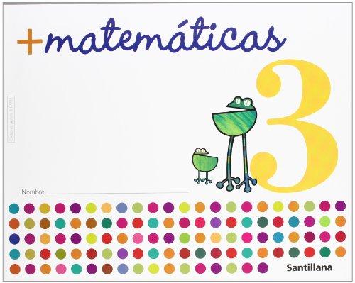 9788429407730: Más Matemáticas 3. Infantil 3 años. Cuaderno del alumno.