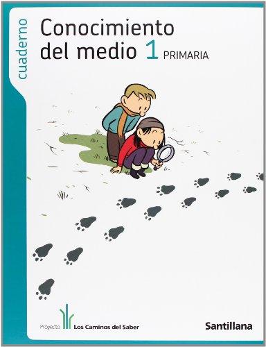 9788429407976: CUADERNO CONOCIMIENTO DEL MEDIO 1 PRIMARIA LOS CAMINOS DEL SABER
