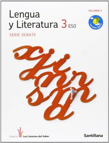 9788429408133: Obra Completa Lengua y Literatura Debate 3 Eso