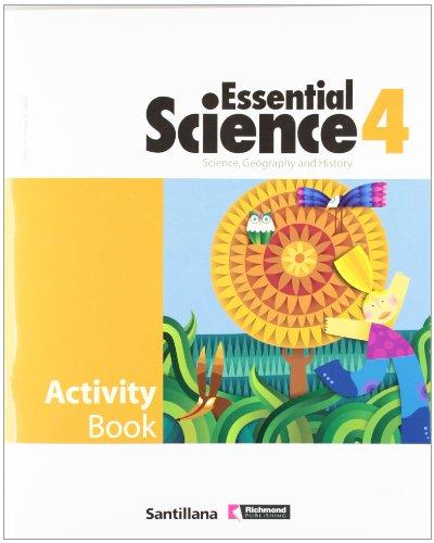 9788429408805: Essential science, geography and history, 4 Educación PriMaría. Activity book