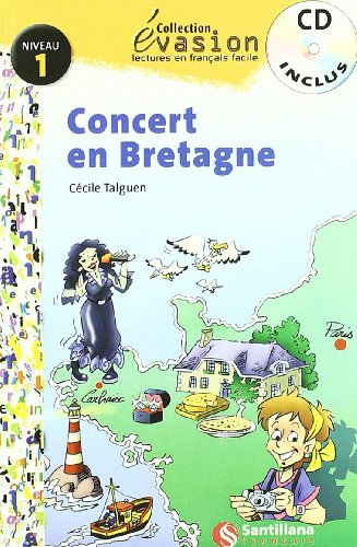 9788429409123: EVASION NIVEAU 1 CONCERT EN BRETAGNE + CD