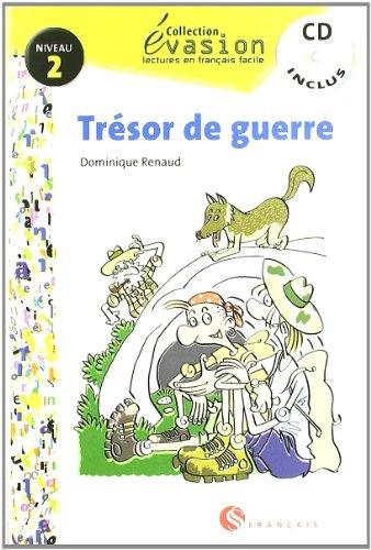 9788429409406: EVASION NIVEAU 2 TRESOR DE GUERRE + CD (Evasion Lectures FranÇais) - 9788429409406