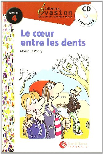 9788429409581: EVASION NIVEAU 4 LE COEUR ENTRE LES DENTS + CD (Evasion Lectures FranÇais) - 9788429409581