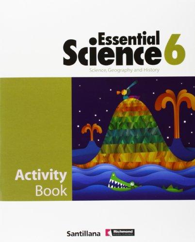 9788429409611: Essential, science, geography and history, 6 Educación PriMaría. Activity book
