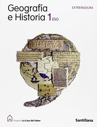 9788429409970: GEOGRAFIA E HISTORIA 1 ESO EXTREMADURA LA CASA DEL SABER