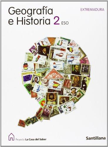 9788429413052: Proyecto La Casa del Saber, geografía e historia, 2 ESO (Extremadura)