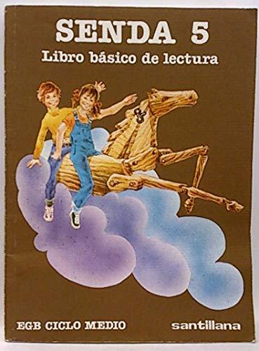 9788429419764: Senda : 5 egb, ciclo medio. libro de lectura