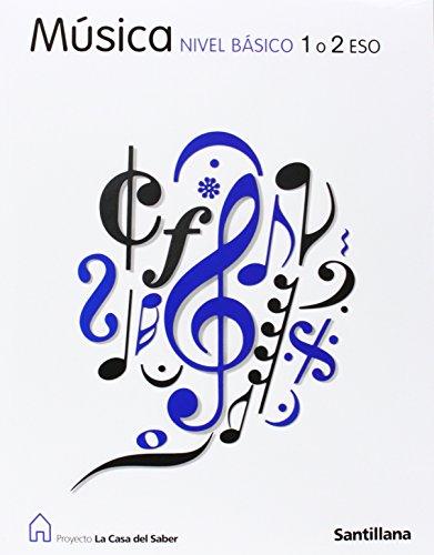 9788429424522: Proyecto La Casa del Saber, música, nivel básico, 1, 2 ESO