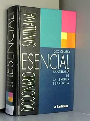 9788429434156: Diccionario Esencial Santillana (Spanish Edition)
