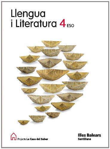 9788429434828: Llengua I Literatura 4 Eso La Casa Del Saber Balear Illes Balears