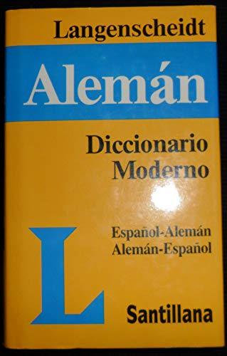 Diccionario Moderno Langenscheidt Español-Alemán Alemán-Español: Th. ...