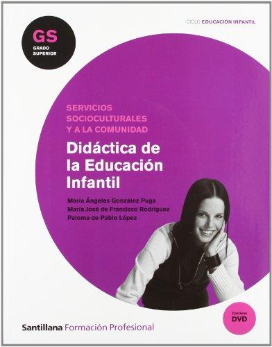 9788429440690: Didáctica de la educación infantil, grado superior de formación profesional