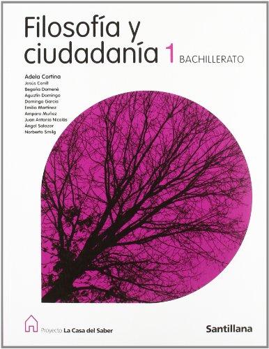 9788429443721: Filosofía y ciudadanía (1 Bachillerato) - 9788429443721