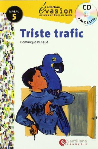 9788429444186: Évasion, Triste trafic, lectures en français facile, niveau 5, ESO