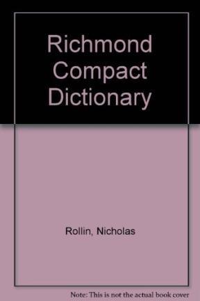 RICHMOND COMPACT DICTIONARY ESPAÑOL INGLES-ENGLISH SPANISH
