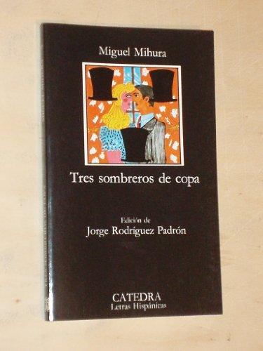 9788429445633: Tres sombreros de copa (Clasicos Esenciales Santillana) (Spanish Edition)