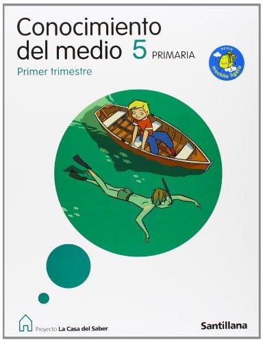 9788429445909: CONOCIMIENTO DEL MEDIO CANTABRIA 5 PRIMARIA M. LIGERA LA CASA DEL SABER