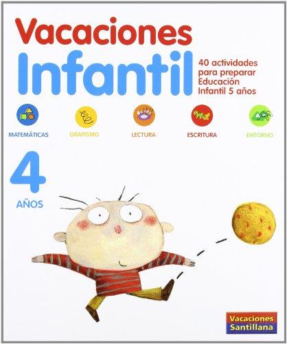 40 actividades para preparar Educación Infantil 5: Vacaciones Santillana