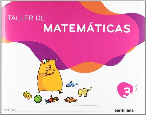 9788429449136: TALLER DE MATEMATICAS 3 AÑOS SANTILLANA
