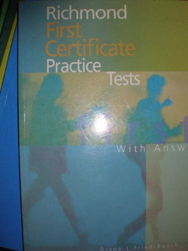 9788429450637: Richmond First Certificate Practice Tests With Answers: With Key