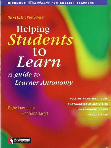 9788429454475: Helping Students Learn: a Guide to Learner Autonomy (Richmond Handbooks for Teachers) - 9788429454475