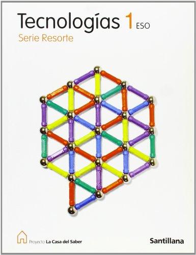 9788429454673: Tecnologías 1 Eso Serie Resorte La Casa Del Saber Santillana