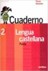 9788429459517: Contigo, un paso mßs, lengua castellana, 2 Educaci¾n Primaria. 3 trimestre. Cuaderno. Pauta