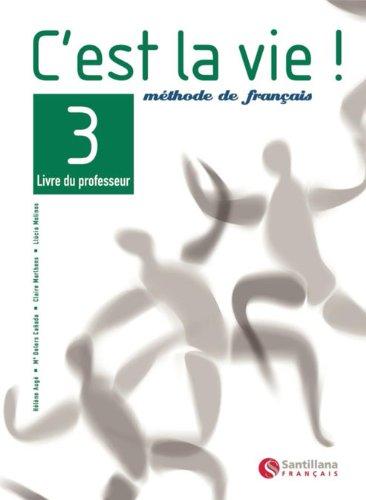 9788429463309: C'Est La Vie 3 Livre Professeur