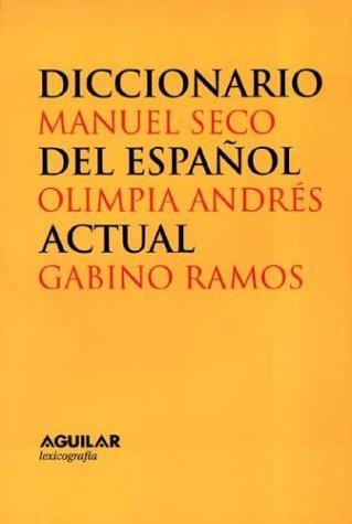 9788429464726: OBRA COMPLETA DICCIONARIO ACTUAL DEL ESPAÑOL 2 TOMOS (Lexicografia Aguilar)