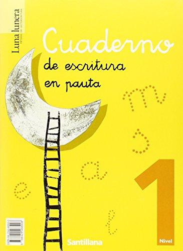9788429468908: Luna lunera, método de lectoescritura, Educación Infantil, nivel 1 (4 libros de lectura+un cuaderno de escritura) - 9788429468908
