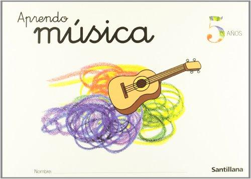 CARPETA APRENDO MUSICA 5 AÑOS - Varios autores