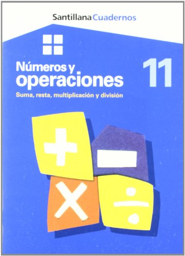 9788429475005: Cuadernos Numeros y Operaciónes Suma, Resta, Multiplicación y Division 11