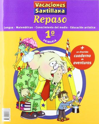 9788429479768: Vacaciones Santillana, lengua, matemáticas, conocimiento del medio, Educación artística, 1 Educación Primaria. Repaso