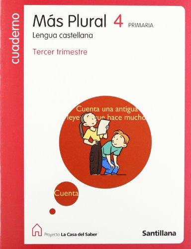 9788429481846: Cuaderno Lengua Castellana Mas Plural 4-3 PriMaría