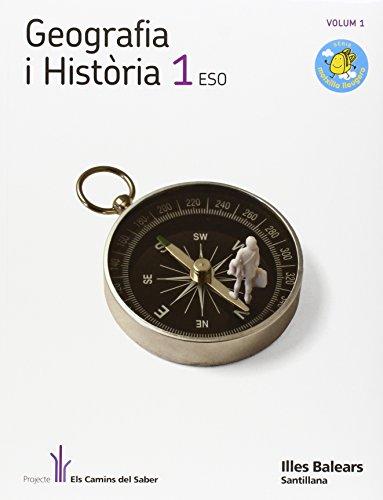 9788429483222: GEOGRAFIA I HISTORIA 1 ESO M LLEUGERA ELS CAMINS DEL SABER
