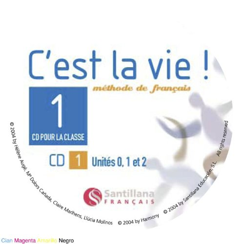 9788429484090: C'EST LA VIE 1 CD CLASS