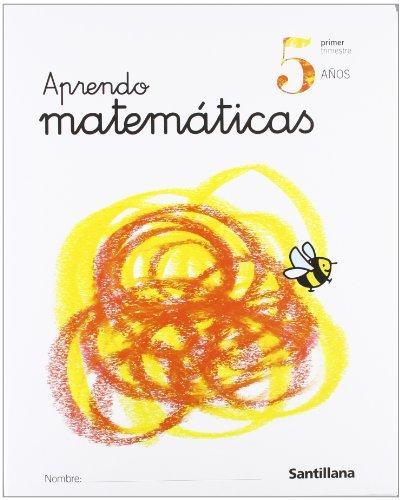 PACK APRENDO MATEMATICAS 5 AÑOS: Varios autores