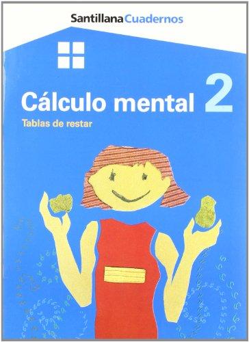 9788429485325: Cuaderno Cálculo Mental 2 Tablas de Restar